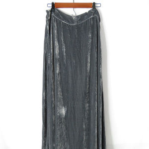 Soft Surroundings Velvet Skirt
